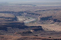 The Fish River Canyon (north)